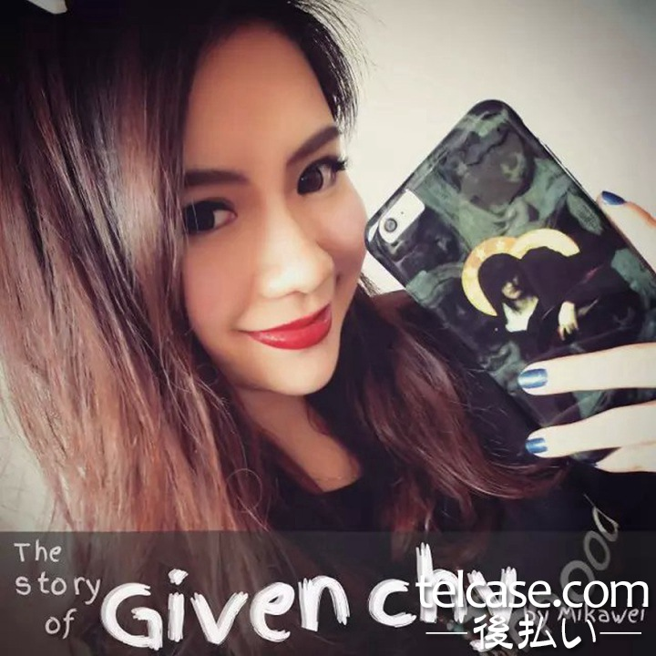 Givenchy iphone7plusカバー 聖女
