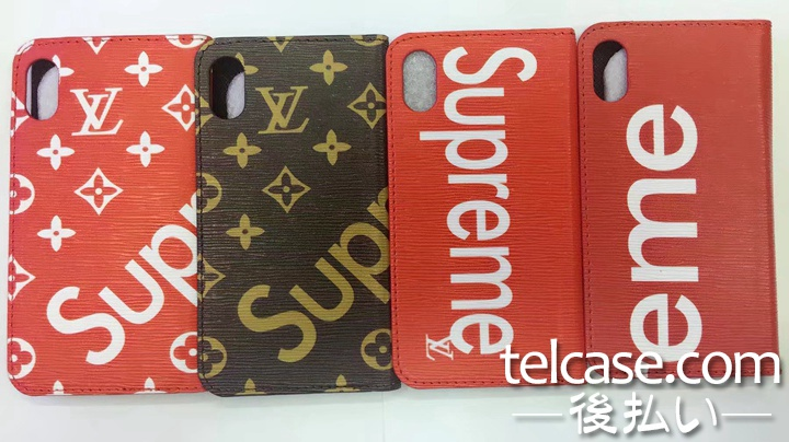 SUPREME LV iphone7ケース コラボ