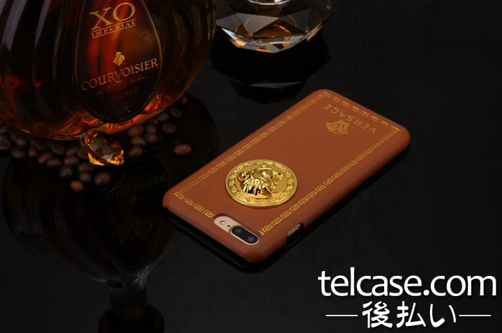 VERSACE iphone8 レザーケース