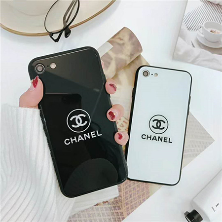 iphone8/xs/xplus xs MAX鏡面ケース CHANEL シンプル