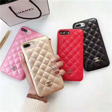 CHANEL iphoneXsMAXケース レザー